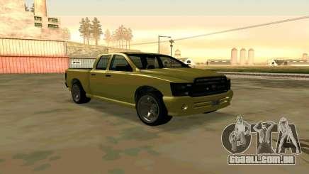 GTA V Bison Version 2 FIXED para GTA San Andreas