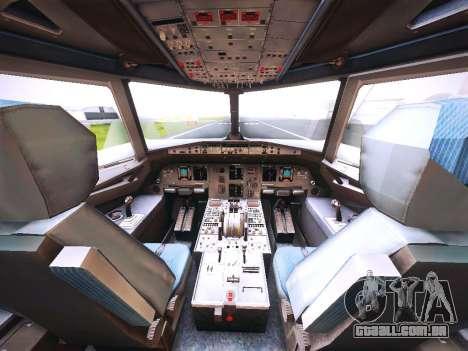 Airbus A320 Cebu Pacific Air para o motor de GTA San Andreas
