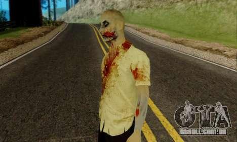 Zumbis do GTA V para GTA San Andreas segunda tela