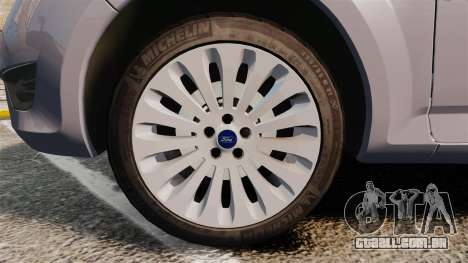Ford Mondeo Hungarian Police [ELS] para GTA 4 vista de volta
