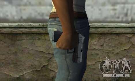 GTA V Combat Pistol para GTA San Andreas terceira tela