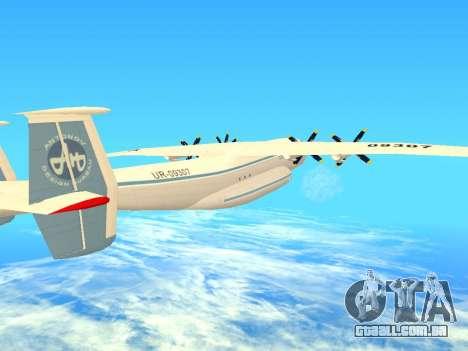 An-22 Antei para GTA San Andreas vista superior
