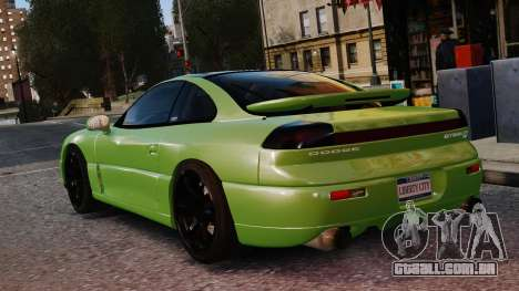 Dodge Stealth Turbo RT 1996 para GTA 4 vista lateral