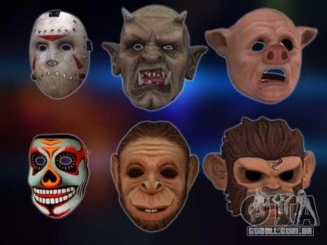 GTA V Masks para GTA San Andreas
