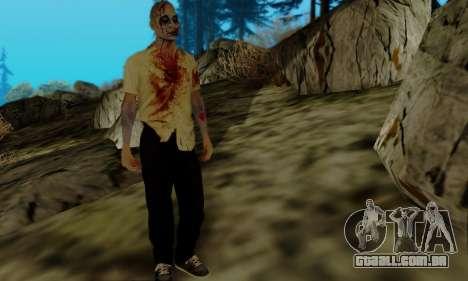 Zumbis do GTA V para GTA San Andreas terceira tela