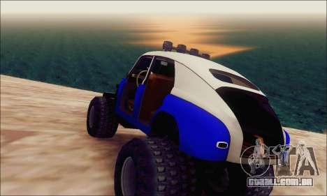 GÁS M20 Monstro para GTA San Andreas esquerda vista