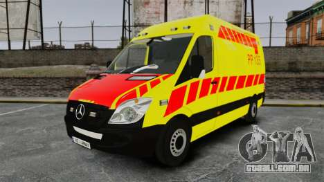 Mercedes-Benz Sprinter Finnish Ambulance [ELS] para GTA 4