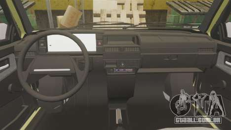 VAZ-Lada 21099 Companheiro para GTA 4 vista lateral