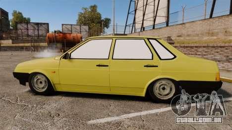 VAZ-Lada 21099 Companheiro para GTA 4 esquerda vista