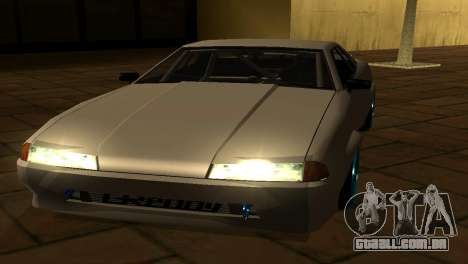 Elegy AssemblY para GTA San Andreas vista inferior