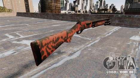 Riot espingarda Remington 870 Wingmaster para GTA 4 segundo screenshot