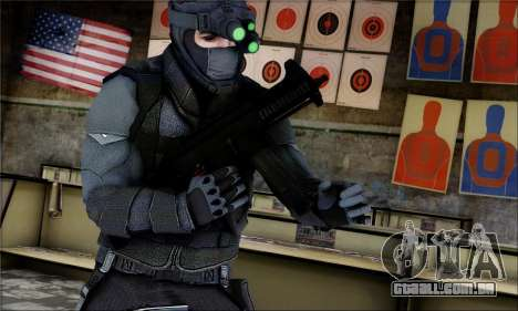 Alfa Team Weapon Pack para GTA San Andreas terceira tela