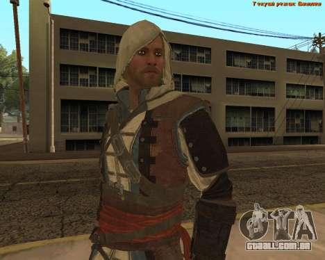 Assassino Edward para GTA San Andreas quinto tela