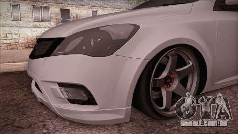 Kia Ceed 2011 SA Plates para GTA San Andreas vista direita