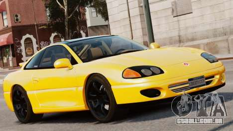 Dodge Stealth Turbo RT 1996 para GTA 4 traseira esquerda vista