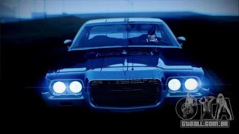Ford Gran Torino De 1972 para GTA San Andreas esquerda vista