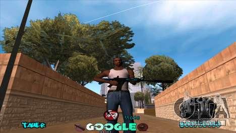 C-HUD Google para GTA San Andreas