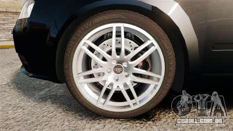 Audi S4 Avant TEK [ELS] para GTA 4 vista de volta