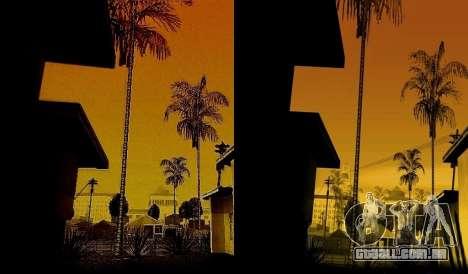 HD cartão, radar, menu para GTA San Andreas por diante tela