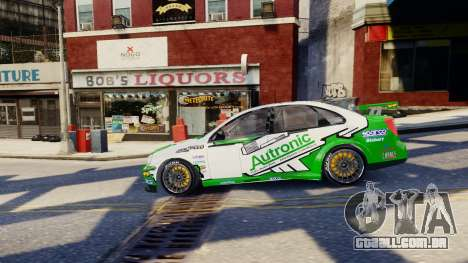 Chevrolet Lacetti para GTA 4 vista inferior