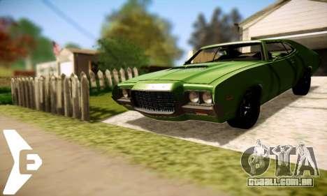 Ford Gran Torino De 1972 para GTA San Andreas vista direita