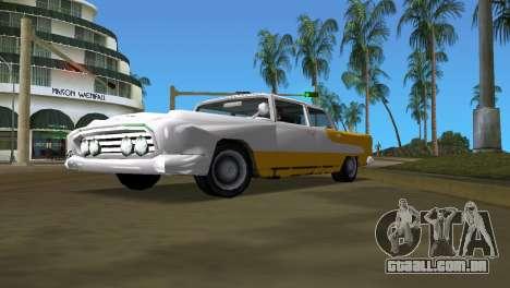Oceânica, com melhor textura para GTA Vice City vista traseira esquerda