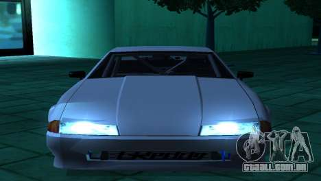 Elegy AssemblY para GTA San Andreas vista traseira