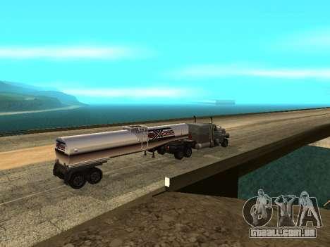 Anti-desacoplamento trailer para GTA San Andreas terceira tela