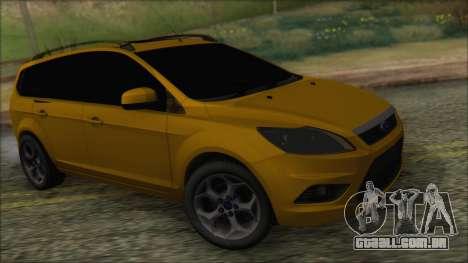 Ford Focus 2008 Station Wagon-Stock para GTA San Andreas