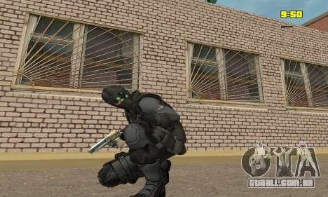Arqueiro do jogo Splinter Cell Conviction para GTA San Andreas terceira tela