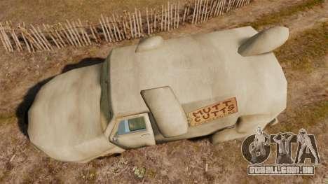 Van-sem noção- para GTA 4 vista direita
