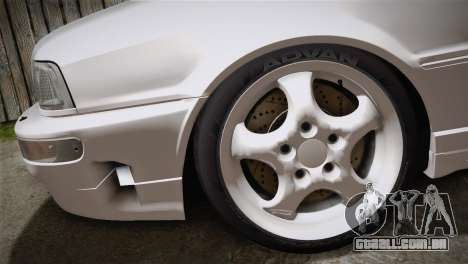 Audi RS2 Avant para GTA San Andreas traseira esquerda vista