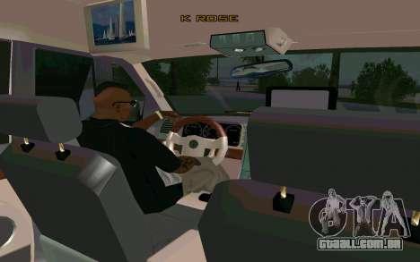 Lincoln Navigator DUB Edition para GTA San Andreas traseira esquerda vista