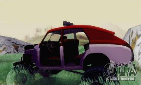 GÁS M20 Monstro para GTA San Andreas vista direita
