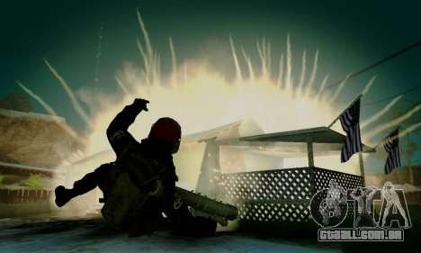 Kopassus Skin 1 para GTA San Andreas nono tela