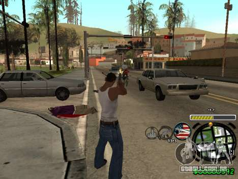 C-HUD Andy Cardozo para GTA San Andreas terceira tela