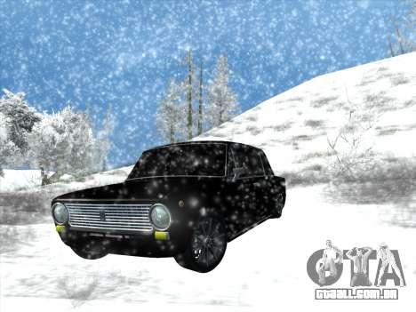 ВАЗ 2101 Ajuste de Estilo para GTA San Andreas vista traseira