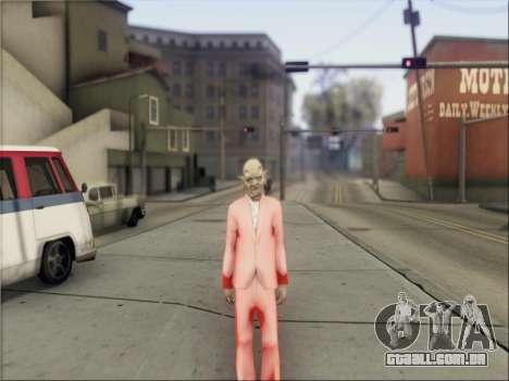 GTA V Masks para GTA San Andreas quinto tela