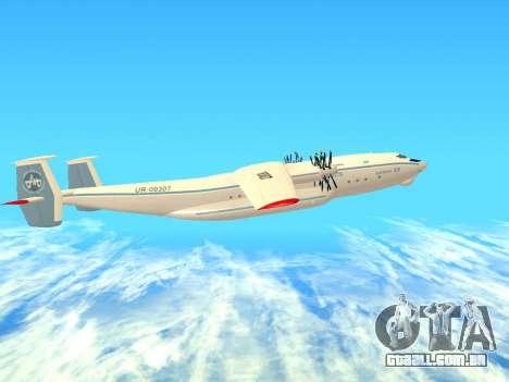 An-22 Antei para GTA San Andreas traseira esquerda vista