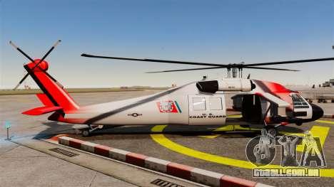 Annihilator U.S. Coast Guard HH-60 Jayhawk para GTA 4 esquerda vista