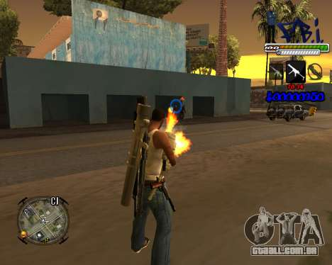 C-HUD FBI By iFreddy para GTA San Andreas segunda tela
