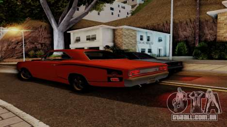 Dodge Coronet RT 1969 440 Six-pack para GTA San Andreas interior