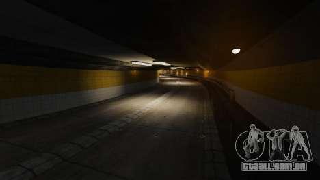 Rua ilegais deriva pista para GTA 4 nono tela