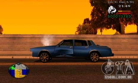 Faixa de máquinas HP para GTA San Andreas segunda tela