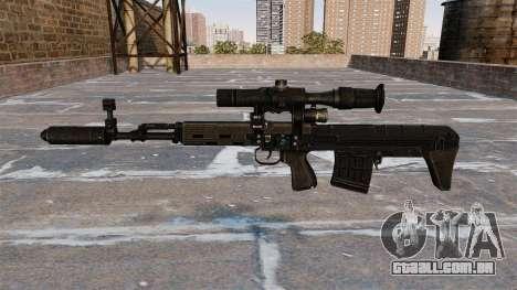 SVD sniper rifle reduzido para GTA 4 terceira tela