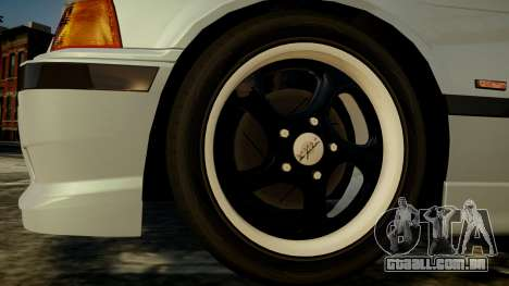BMW M3 E36 328i para GTA 4 vista direita