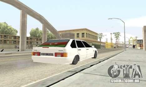 VAZ 2114 Avtosh para GTA San Andreas vista interior