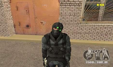 Arqueiro do jogo Splinter Cell Conviction para GTA San Andreas