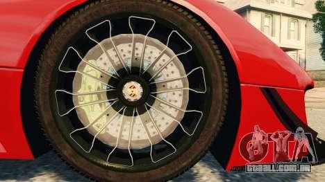 Porsche 918 Spider Body Kit Final para GTA 4 vista superior