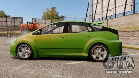 Karin Dilettante new wheels para GTA 4 esquerda vista